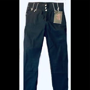 Pants - Ladies black skinny leg slacks